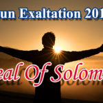 Sun Exaltation April 2018 And Greatest Seal Of Solomon