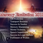 Mercury Exalted 2018 – Powerful Mercury Talismans