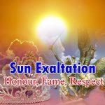 Sun Exaltation 2019